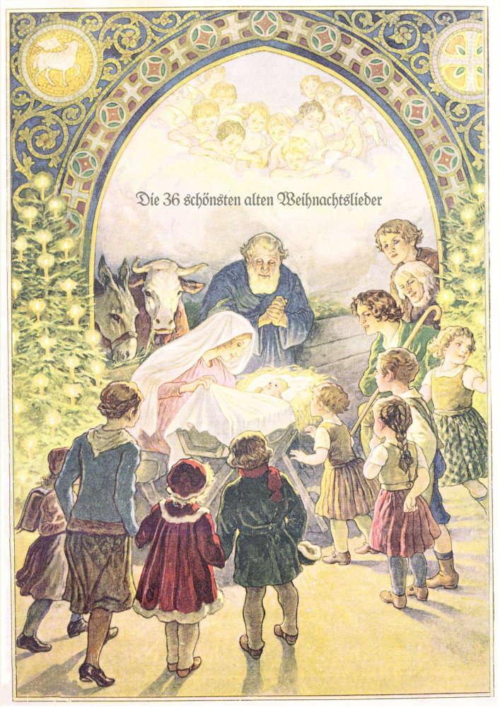 Weihnachtsliederbuch - die 36 schönsten, alten Weihnachtslieder